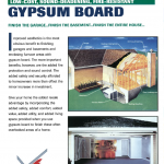 Low-Cost Sound-Deadening Fire-Resistant Gypsum Board