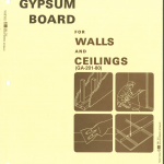 Using Gypsum Board for Walls Ceilings 1980
